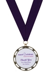 MDMD0501 - Medallion with custom insert.March of Dimes Awards new value priced medallion is available with NINE different inserts (see details below) to call attention to participation in March for Babies, Bikers for Babies, Signatures Chefs and Jail and Bail programs.