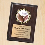6 x 8 March of Dimes Plaque with full color disc insert is now available in NINE different styles (see details below) to call attention to participation in March for Babies, Bikers for Babies, Signature Chef, Jail and Bail, and more. Price includes text only on quickplate. Former Item# MDS502